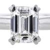 1.23 ct. Emerald Cut Solitaire Ring #4