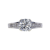 1.20 ct. Round Cut Solitaire Ring, J, I1 #2