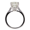 3.47 ct. Round Cut Solitaire Ring #3