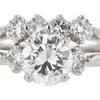 1.17 ct. Round Cut Bridal Set Ring, D, VS2 #4