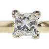1.03 ct. Princess Cut Bridal Set Ring, L, VS1 #4