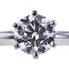 1.02 ct. Round Cut Solitaire Ring, H, SI1 #2