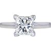 1.99 ct. Princess Cut Solitaire Ring, K, SI2 #3
