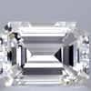 1.02 ct. Emerald Cut Bridal Set Ring, J, VS1 #1