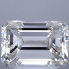 3.04 ct. Emerald Cut 3 Stone Ring, K, SI1 #1
