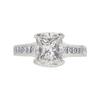 1.85 ct. Princess Cut Ring, H, VS1 #2