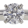 0.9 ct. Round Cut Solitaire Ring, F, SI2 #4