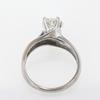 1.05 ct. Round Cut Bridal Set Ring #2