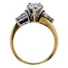 0.95 ct. Pear Cut Bridal Set Ring, G-H, SI1-SI2 #3