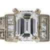 1.03 ct. Emerald Cut Ring, E, VS2 #4