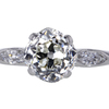 1.75 ct. Old Mine Cut 3 Stone Ring #1