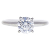 1.0 ct. Round Cut Solitaire Ring, F, SI1 #3