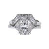 2.02 ct. Modified Cushion Cut Bridal Set Ring, G, VS2 #2