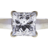 1.47 ct. Princess Cut Solitaire Ring, G, SI2 #4