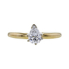 0.47 ct. Pear Cut Solitaire Ring, E-F, SI1-SI2 #2