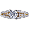 0.72 ct. Round Modified Brilliant Cut Solitaire Ring, H, SI1 #2