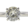 1.0 ct. Round Cut Bridal Set Ring, L, VS1 #4