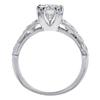 1.18 ct. Round Cut Bridal Set Ring, H, VVS2 #2