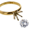 1.02 ct. Round Cut Solitaire Ring #4