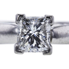 1.00 ct. Radiant Cut Solitaire Ring, F, SI1 #2