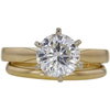 1.71 ct. Round Cut Bridal Set Ring, H, I1 #2
