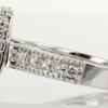 0.98 ct. Princess Cut Halo Ring #3