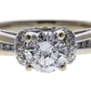 1.0 ct. Round Cut Solitaire Ring, K, I1 #4