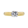 0.70 ct. Round Cut Solitaire Ring, I, SI1 #3