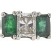 1.01 ct. Radiant Cut Bridal Set Ring, E, SI1 #4