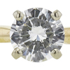 0.81 ct. Round Cut Solitaire Ring, G, SI1 #4