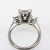 2.08 ct. Princess Cut Bridal Set Ring #2