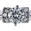 0.97 ct. Round Cut Solitaire Ring, H, SI1 #4