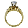 0.92 ct. Round Cut Bridal Set Ring, F, VS2 #2