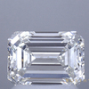 1.50 ct. Emerald Cut Halo Ring, I, SI1 #1