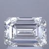 1.50 ct. Emerald Cut Halo Ring, I, SI1 #1