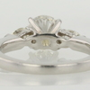 1.08 ct. Round Cut 3 Stone Ring #2