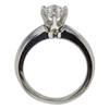 0.78 ct. Round Cut Bridal Set Ring, E, VS2 #4