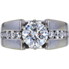 1.63 ct. Round Cut Solitaire Ring, H, I1 #1