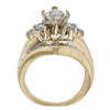 1.03 ct. Marquise Cut Solitaire Ring, H, I1 #4