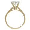 1.15 ct. Round Cut Solitaire Ring, I-J, SI2-I1 #3