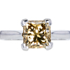 2.53 ct. Princess Cut Solitaire Ring, Fancy, SI1 #3
