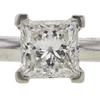 0.7 ct. Princess Cut Solitaire Ring, G, VVS1 #4