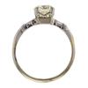 1.3 ct. European Cut Solitaire Ring #4