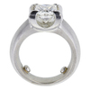 2.02 ct. Princess Cut Solitaire Ring, I, SI2 #3