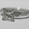 1.84 ct. Princess Cut Solitaire Ring #2