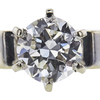 0.98 ct. Round Cut Bridal Set Ring, J, SI2 #4