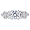 1.02 ct. Round Cut Solitaire Ring, G, VS2 #3