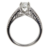 0.96 ct. Round Cut Solitaire Ring, J, I1 #4