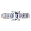 1.01 ct. Emerald Cut Solitaire Ring, E, VS1 #3