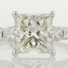 1.70 ct. Princess Cut Ring #1